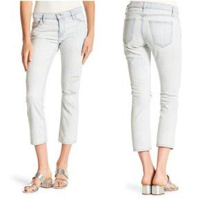 Current/Elliot The Cropped Straight Leg Jeans 24